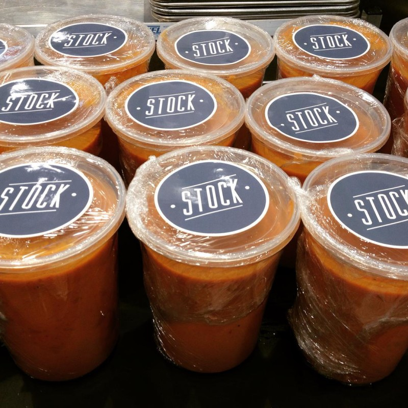 #stock tomato soup hitting a the freezer @localfoods for you to take home. #eatlocal #soupweather